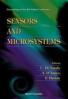 Sensors and microsystems : proceedings of the 4th Italian Conference : Roma, Italy, 3-5 February 1999