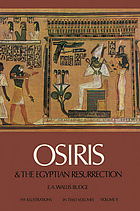 Osiris and the Egyptian resurrection