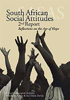 South African social attitudes, 2nd report : reflections on the age of hope