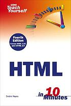 Sams teach yourself HTML in 10 minutes