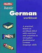 Basic German workbook