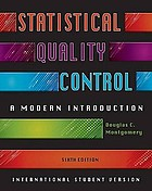 Statistical quality control : a modern introduction