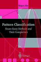 Pattern classification : neuro-fuzzy methods and their comparison