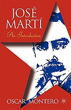 José Martí : an introduction