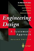 Engineering design : a systematic approach.