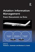 Aviation information management : from documents to data