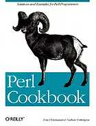 Perl cookbook : solutions and examples for Perl programmers