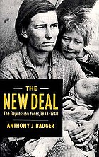 The New Deal : the depression years, 1933-40