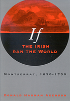 If the Irish ran the world : Montserrat, 1630-1730