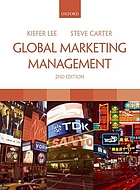 Global marketing management : changes, new challenges, and strategies