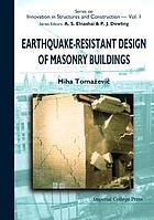 Earthquake-resistant design of masonry buildings