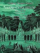 Piano concertos, nos. 23-27, with Mozart's cadenzas for nos. 23 and 27, and the Concert rondo in D, from the Breitkopf & Härtel complete works edition