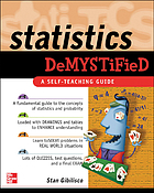 Statistics demystified