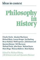 Philosophy in history : essays on the historiography of philosophy