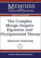The complex Monge-Ampère equation and pluripotential theory
