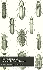 The Journal of the Linnean Society. Zoology.