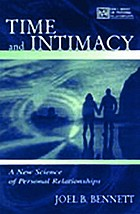 Time and intimacy : a new science of personal relationships