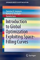 Introduction to global optimization exploiting space-filling curves