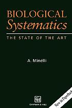 Biological systematics : the state of the art