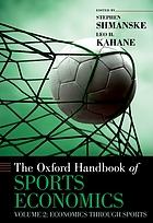 The Oxford handbook of sports economics
