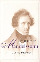 A portrait of Mendelssohn