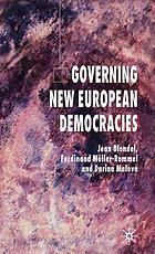 Governing new European democracies