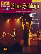 Black Sabbath : [play 7 songs with tab and sound-alike cd tracks]