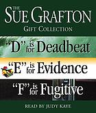 The Sue Grafton DEF gift collection