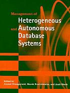 Management of heterogeneous and autonomous databasa systems
