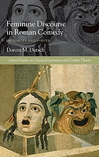 Feminine discourse in Roman comedy : on echoes and voices