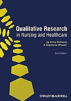 Qualitative Research in Nursing and Healthcare cover image