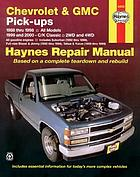 Chevrolet & GMC pick-ups automotive repair manual