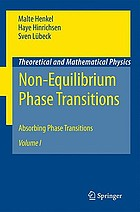 Non-equilibrium phase transitions. / Volume I, Absorbing phase transitions