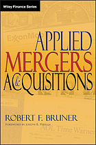Applied mergers and acquisitions/ [Hauptbd.].