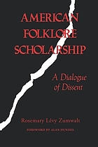 American folklore scholarship : a dialogue of dissent