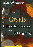 Grants : introduction, sources and bibliography