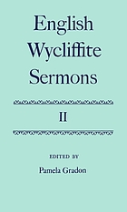 English Wycliffite sermons 2.
