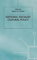 National Socialist cultural policy