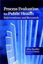 Process evaluation for public health interventions and research