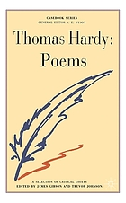 Thomas Hardy : poems : a casebook.