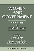 Women and government : new ways to political power