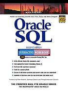 Oracle SQL interactive workbook : Rev. ed. of Oracle SQL interactive workbook