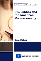U.S. politics and the American macroeconomy