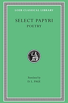 Select papyri : in three volumes