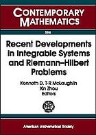 Recent developments in integrable systems and Riemann-Hilbert problems