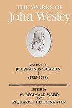The works of John Wesley. Vol. 18-23, Journal and diaries