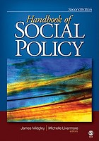 The Handbook of Social Policy cover image