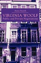 Virginia Woolf : public and private negotiations