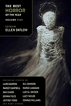 The best horror of the year. Volume five