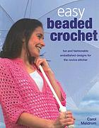Easy beaded crochet